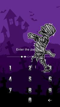 AppLock Theme Mummy apk screenshot