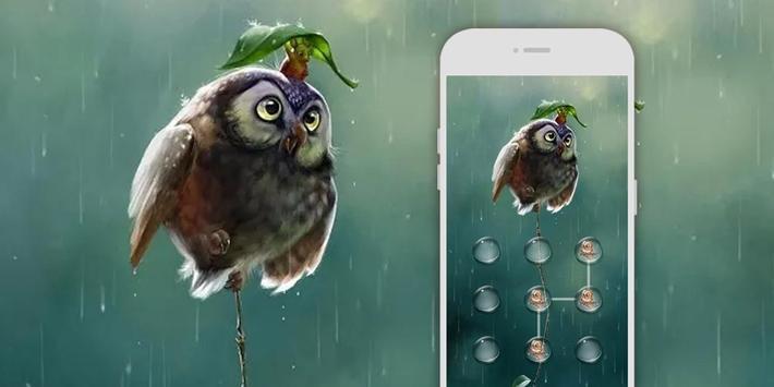 AppLock Theme Rain screenshot 3