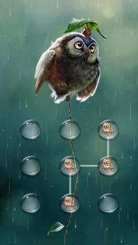 AppLock Theme Rain poster