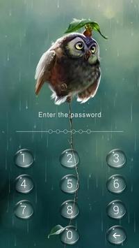 AppLock Theme Rain screenshot 1