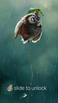 AppLock Theme Rain screenshot 2