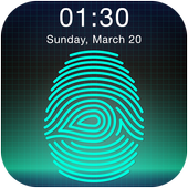 Fingerprint Password icon