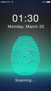 Fingerprint Password poster