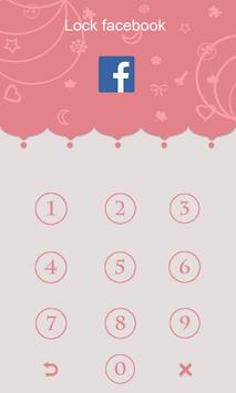 AppLock Pink apk screenshot