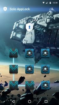 Aether AppLock Theme apk screenshot