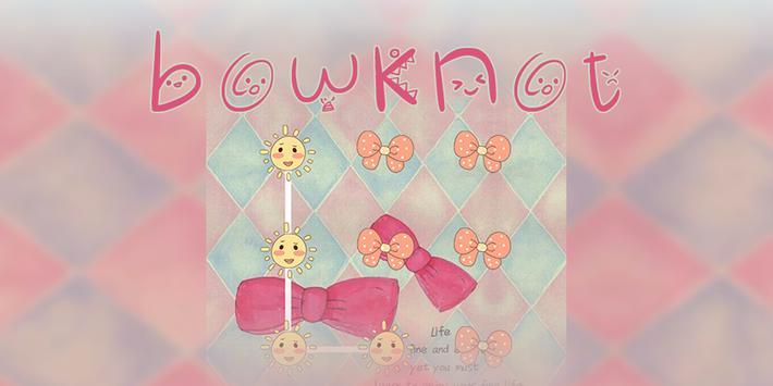 AppLock Bowknot Theme poster