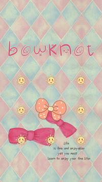 AppLock Bowknot Theme apk screenshot