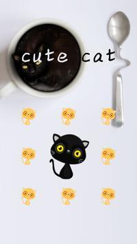 AppLock Cute Cat Theme apk screenshot
