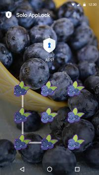 AppLock Cute Fruit Theme apk screenshot