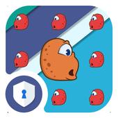 AppLock Cute Monster Theme icon