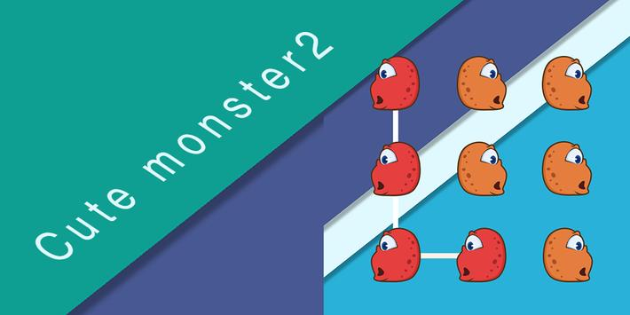 AppLock Cute Monster Theme poster