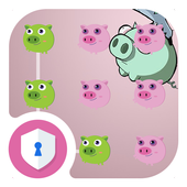 AppLock Cute Pig Theme icon
