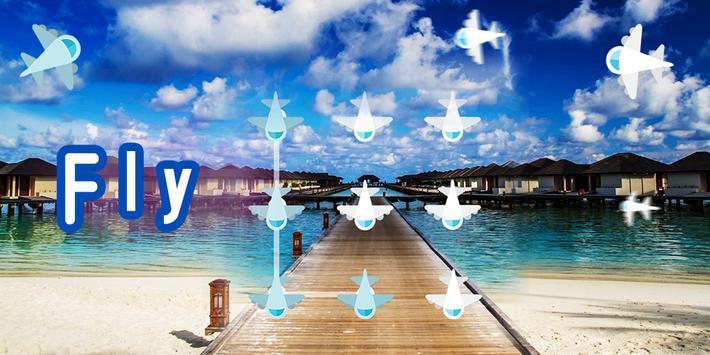 AppLock Fly Theme poster