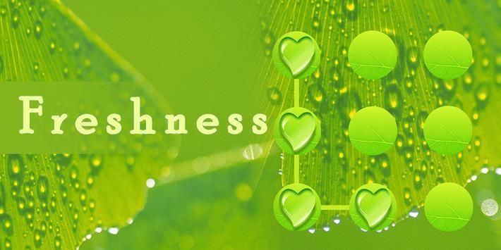 AppLock Freshness Theme poster