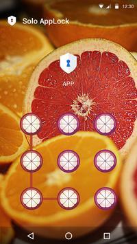 AppLock Grapefruit Theme apk screenshot