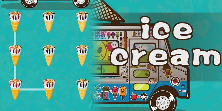 Ice Cream AppLock Theme poster