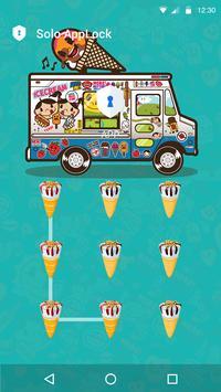 Ice Cream AppLock Theme apk screenshot