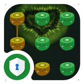 AppLock Kiwi Fruit Theme icon