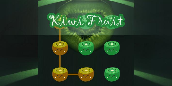 AppLock Kiwi Fruit Theme poster