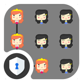Littile Girl AppLock Theme icon