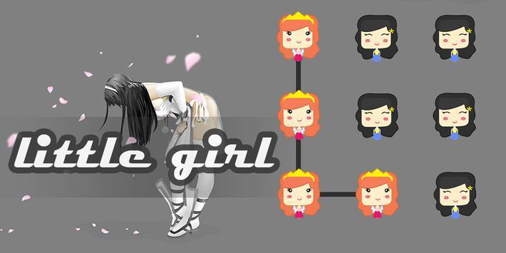 Littile Girl AppLock Theme poster