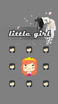 Littile Girl AppLock Theme apk screenshot