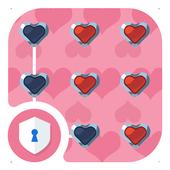 Love Pink AppLock Theme icon
