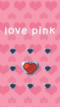 Love Pink AppLock Theme poster