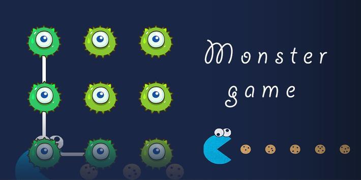 Monster Game AppLock Theme poster