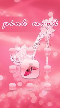Pink Mood AppLock Theme apk screenshot