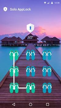 Relaxation AppLock Theme apk screenshot