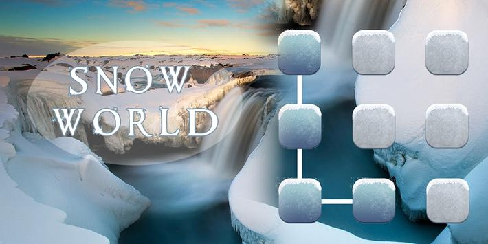 Snow World AppLock Theme poster