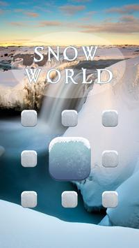 Snow World AppLock Theme screenshot 1
