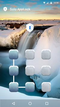 Snow World AppLock Theme screenshot 2