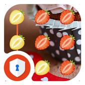Strawberry AppLock Theme icon