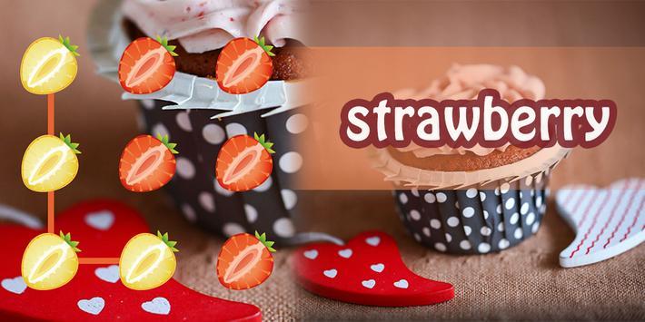 Strawberry AppLock Theme poster