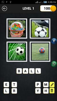 Guess the Picture Word Puzzle poster