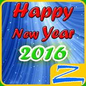 Happy 2016 – Zero Launcher icon