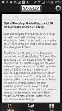 Sak & Liv apk screenshot