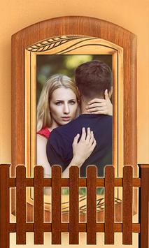 Wood Wall Photo Frames poster
