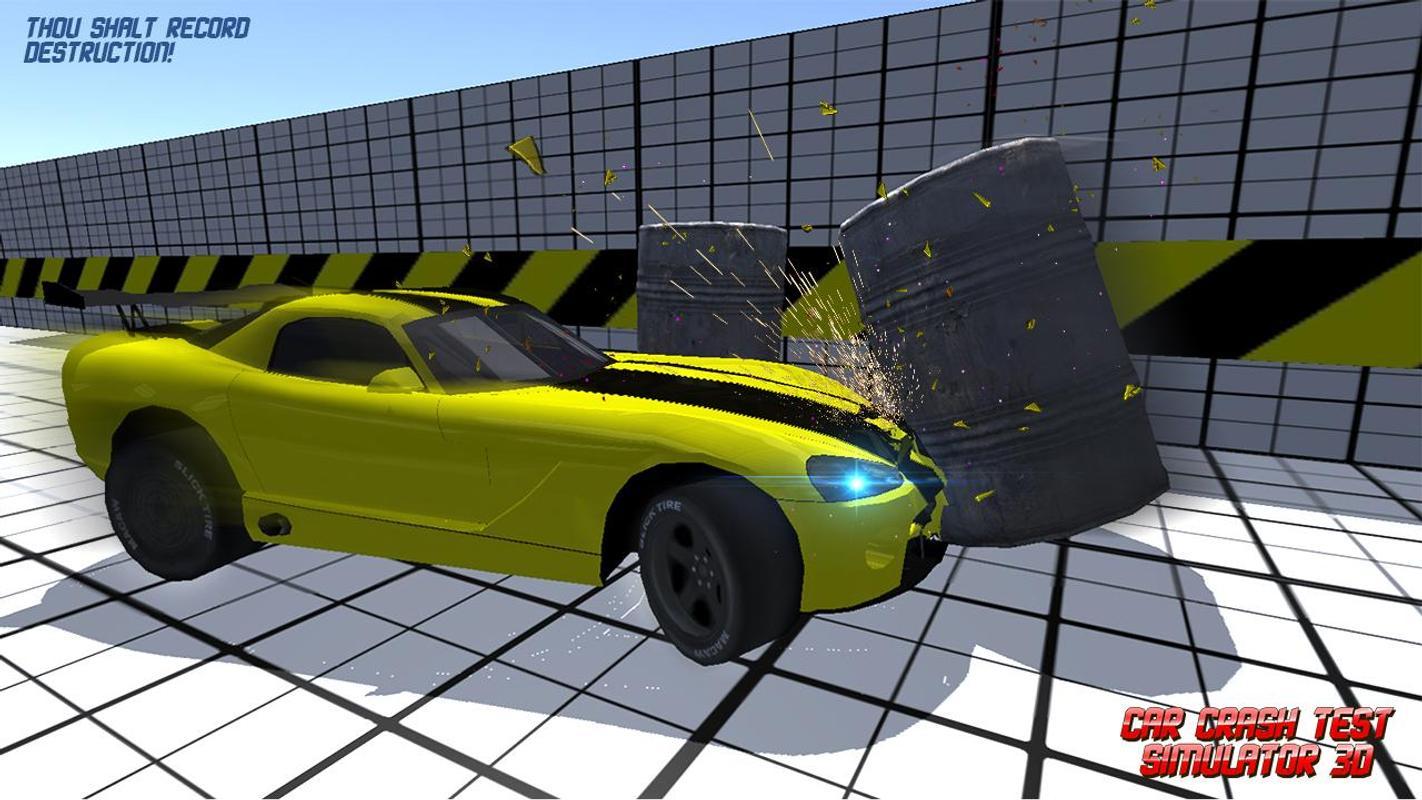 Car Crash Test Simulator 3D For Android