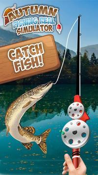 Autumn Fishing Real Simulator poster