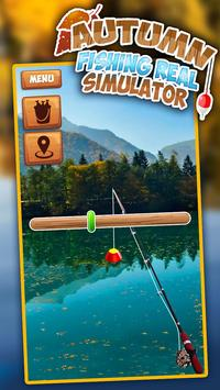 Autumn Fishing Real Simulator screenshot 1