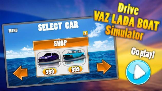 Drive VAZ LADA Boat Simulator screenshot 1