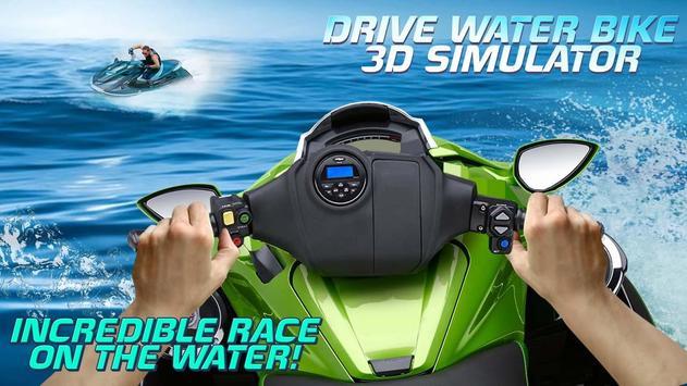 Drive Water Bike 3D Simulator screenshot 1