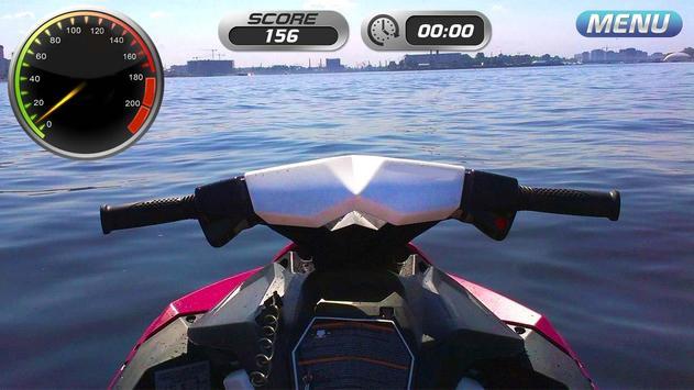 Drive Water Bike 3D Simulator screenshot 3