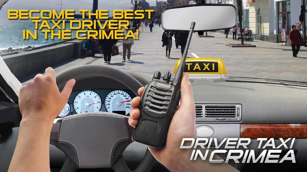 Driver Taxi in Crimea poster
