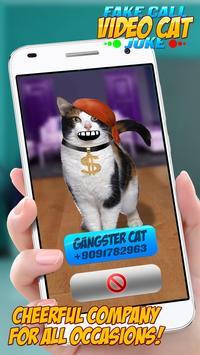 Fake Call Video Cat Joke screenshot 2