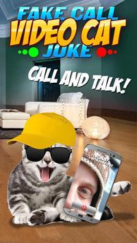 Fake Call Video Cat Joke screenshot 1