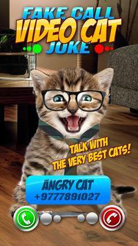 Fake Call Video Cat Joke screenshot 6